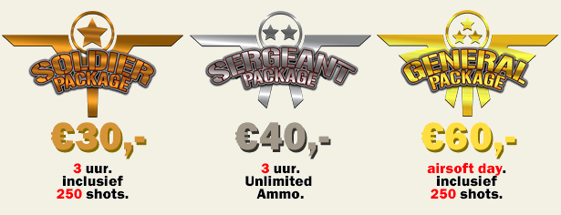 airsoft packges