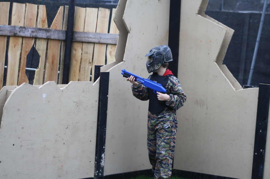 Het leukste kinderfeestje vier je bij Paintball Jungle