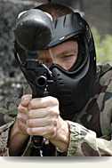 Paintball or Airsoft arrangements near Amsterdam