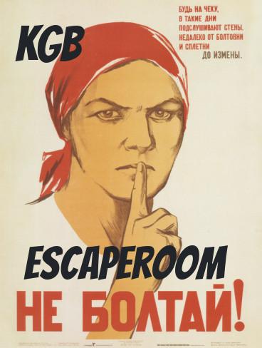 KGB escaperoom poster